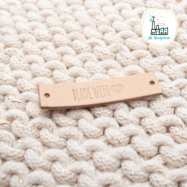 LEREN LABEL MADE WITH ♥ (SMALL)