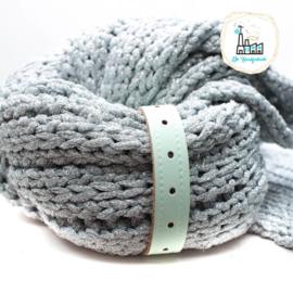 Sjaal Riempje Mint 23 cm