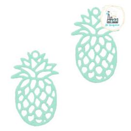 Bedel Bohemian ananas mint  19 mm x 12 mm