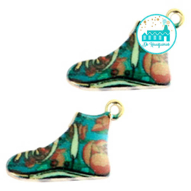 Charm Sneaker Aqua 16 mm x 13 mm