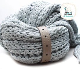 Sjaal Riempje Taupe 23 cm