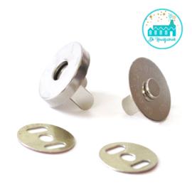 Magneet Knoop Nikkel 18mm