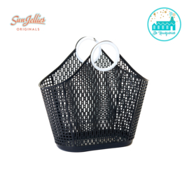 Sun Jellies Fiesta Shopper Black Small