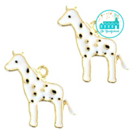 Bedel Giraffe  wit 20 mm x 13 mm