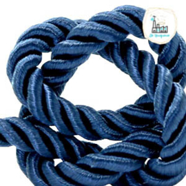 Trendy Koord 6 MM  Blauw