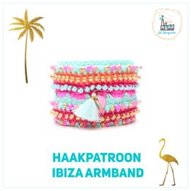 Ibiza armband Haakpatroon