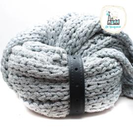 Sjaal Riempje Zwart 23 cm