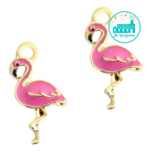 Charm Flamingo's 17 mm x 10 mm