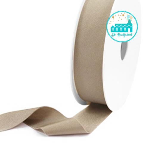 Ibiza Elastiek voor armbandjes taupe 25 mm