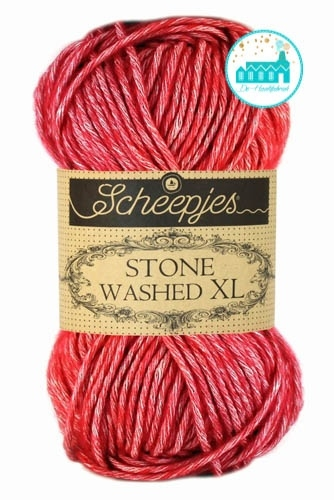 Scheepjes Stone Washed XL - 847- Red Jasper