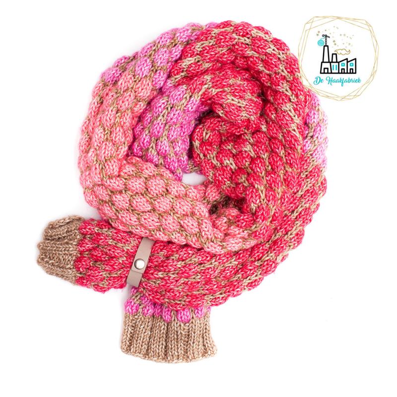 Breipatroon Bubble Sjaal