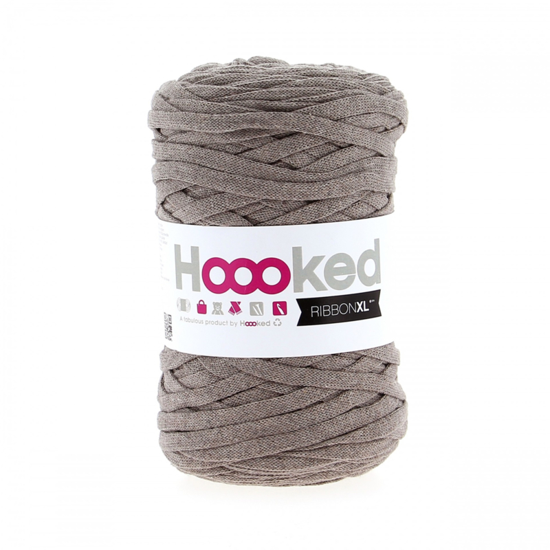 HOOOKED RIBBONXL EARTH TAUPE