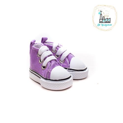 Sneakers voor Amigurumi Poppetjes Paars