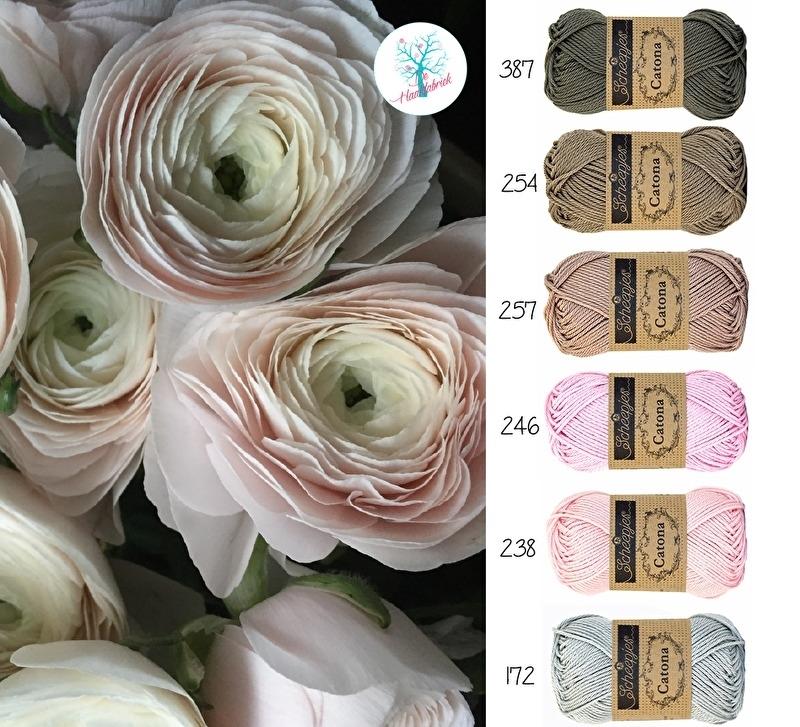 Color Combination Catona Cotton 06