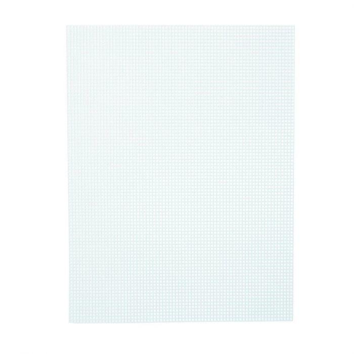 Darice • Plastic Stramien 26x34cm Lichtgroen Mesh:7