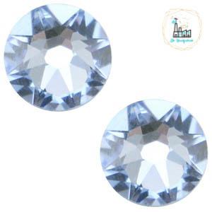 Swarovski Steentje SS34 flatback Xirius Rose Light sapphire