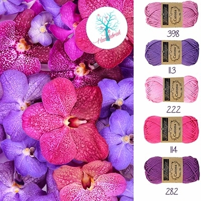 Color Combination Catona Cotton 10