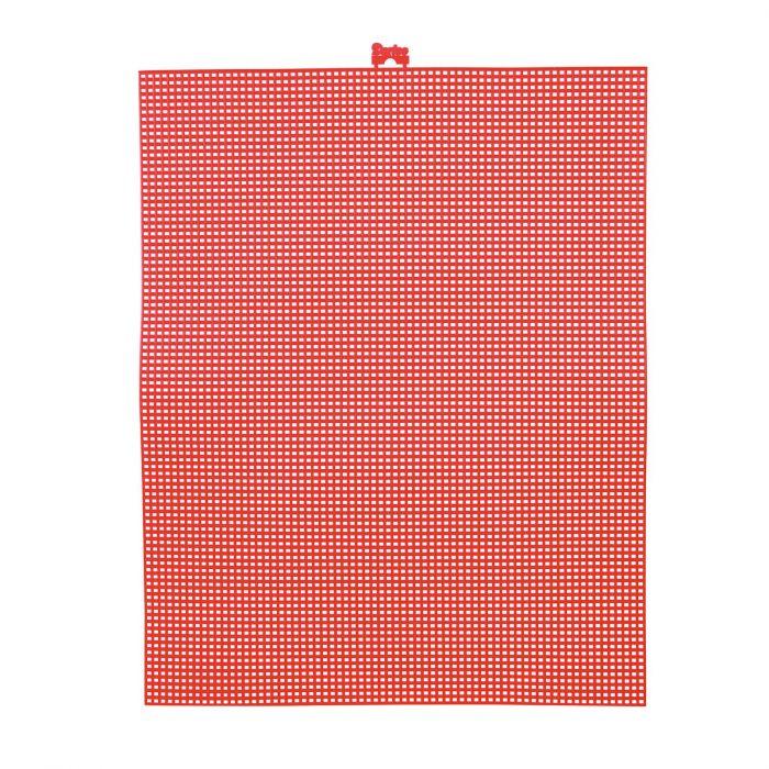 Darice • Plastic Stramien 26x34cm Rood Mesh:7