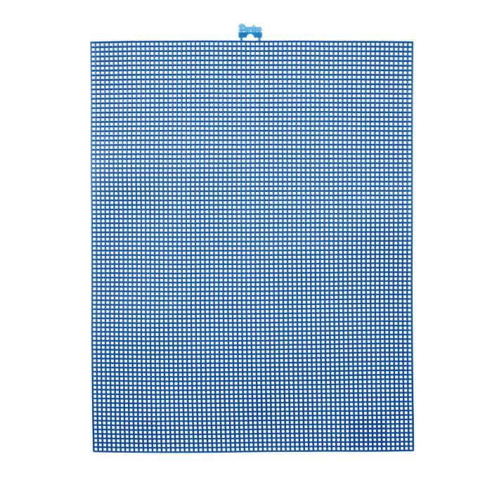 Darice • Plastic Stramien 26x34cm Donkerblauw Mesh:7