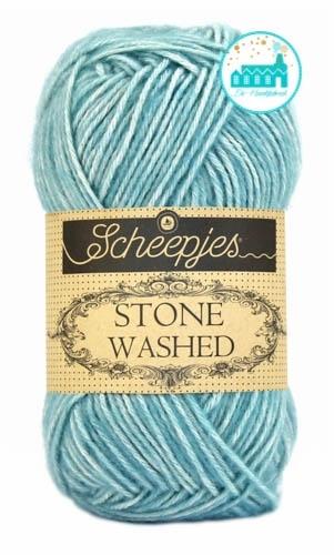 Scheepjes Stone Washed - 813 -Amazonite