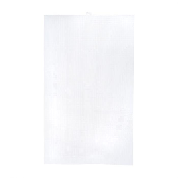 Darice.Plastic Stramien 34.6 x 57,5 cm Transparant Mesh:7