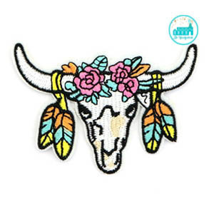 Patch Buffalo 6 cm x 9 cm