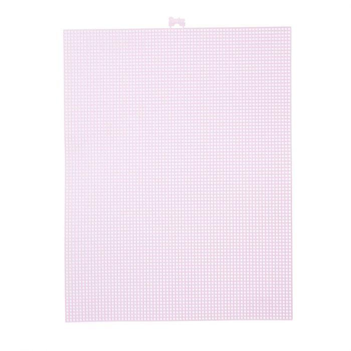 Darice • Plastic Stramien 26x34cm Lavendel Mesh:7