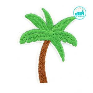 Patch Palm Tree 7 cm x 6 cm