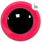 Veiligheidsoogjes gekleurd rond 8MM Roze
