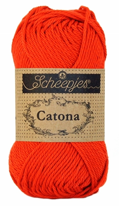 Scheepjes Catona Poppy Rose 390
