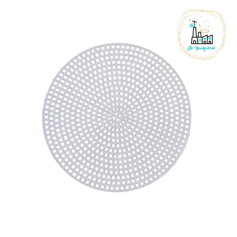 Plastic stramien 10,8 cm rond