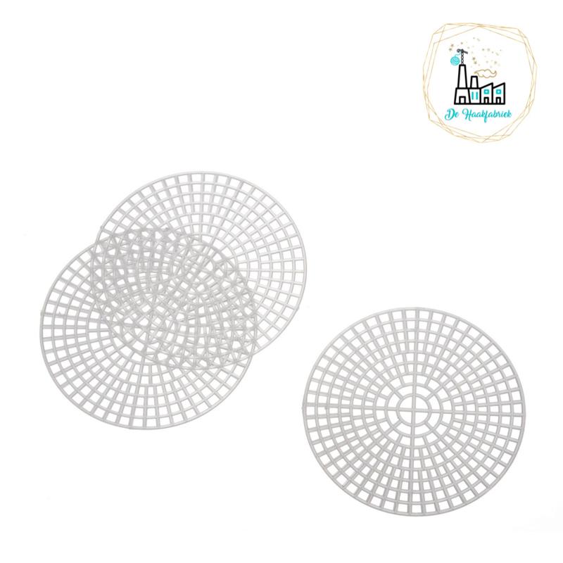 Plastic stramien 11,5 cm rond