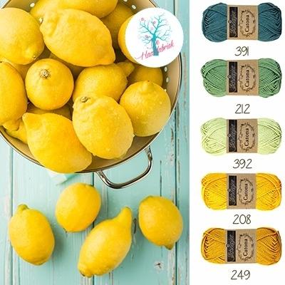 Color Combination Catona Cotton 12