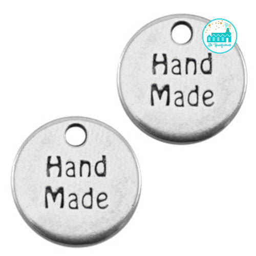 Metal Label 'Handmade' 13MM