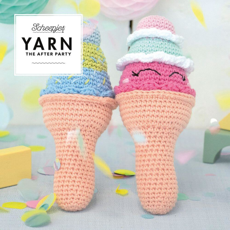YARN The After Party 56 - Ice Cream Rattle