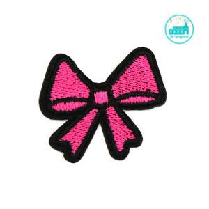 Patch pink Lace 4 cm x 4 cm