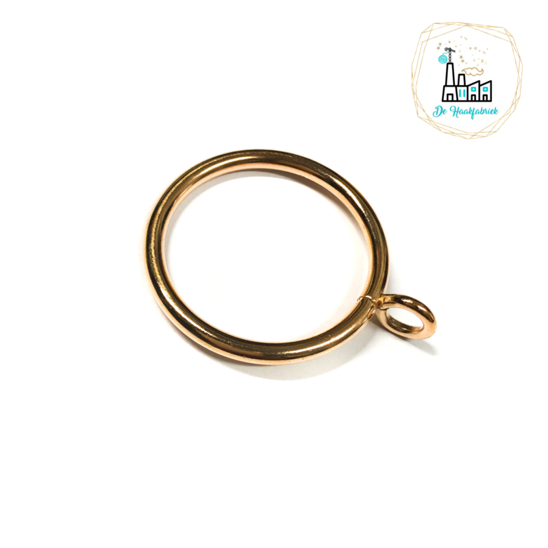 Metalen Ring Goud 45MM