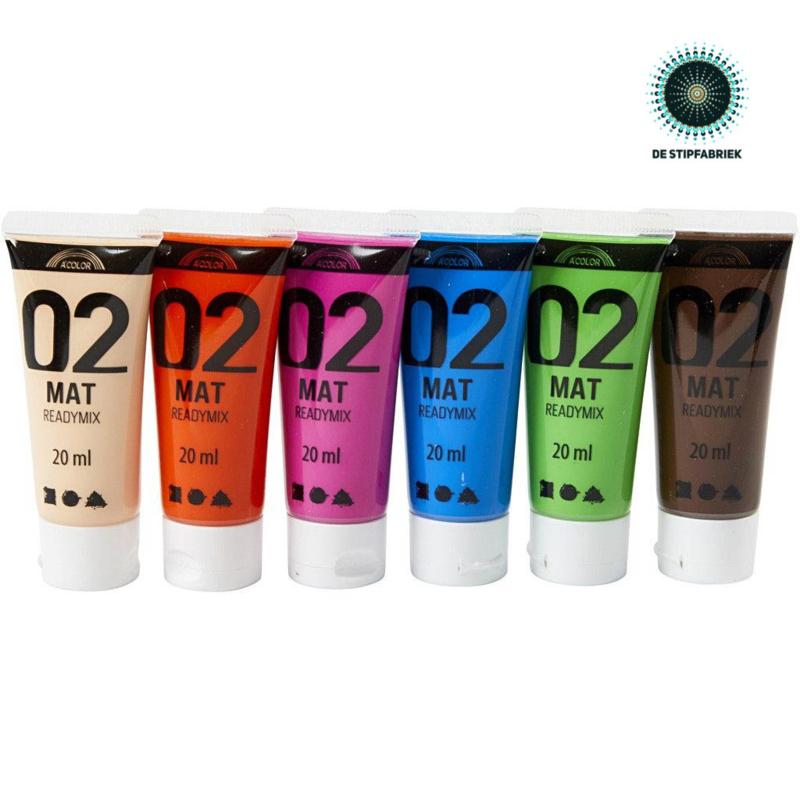 A-Color acrylverf MATT 02