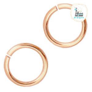 Metaal buigring 4.5mm Rosé goud