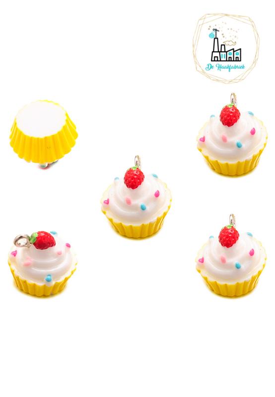 Bedel Cupcake Geel 16MM
