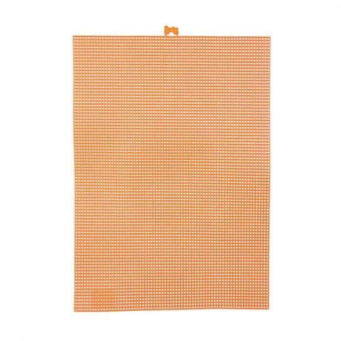 Darice • Plastic Stramien 26x34cm Oranje Mesh:7