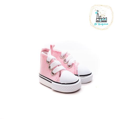 Sneakers voor Amigurumi Poppetjes Roze