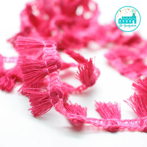 Magenta Strip with Brushes 1,5 cm per meter