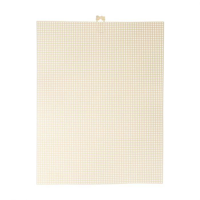 Darice • Plastic Stramien 26x34cm Ivoor Mesh:7