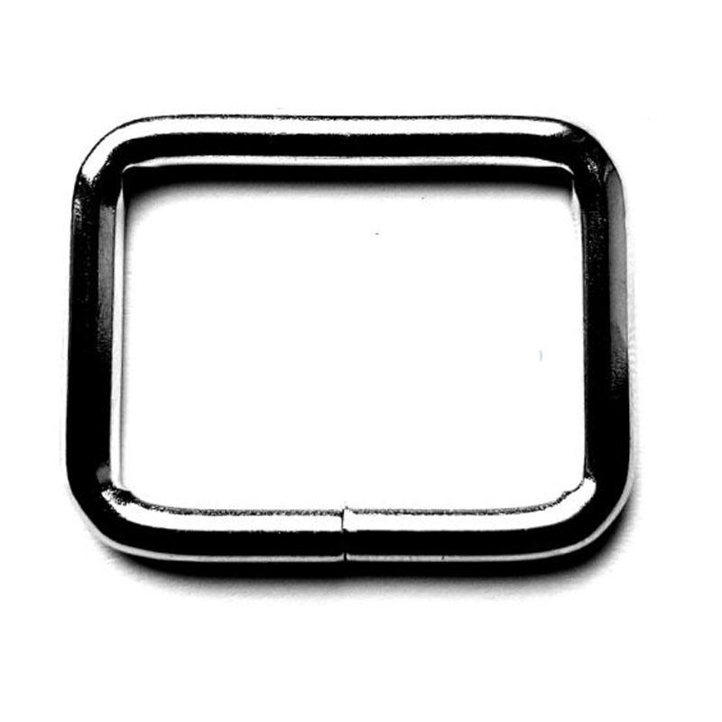 Stevige D-Ringen Rechthoek voor tashengsels 25 mm