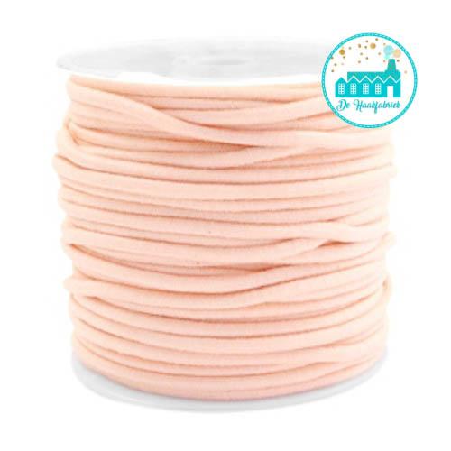Peach Elastic Cord 25 mm per meter