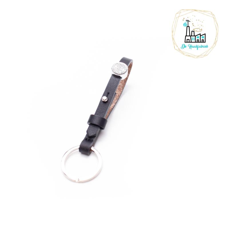 The Dutch Bracelet Factory Sleutelhanger 7840 Dark Antraciet
