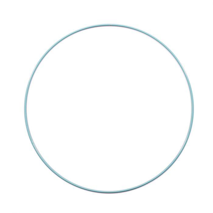Metalen Ring 25 cm dikke kwaliteit Turquoise