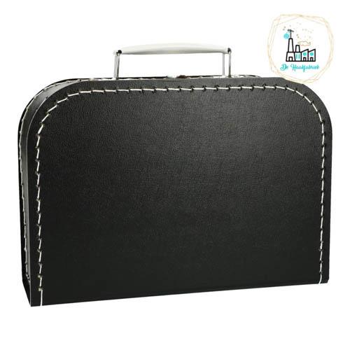 Kinderkoffertje Zwart 25 cm