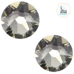 Swarovski Steentje SS34 flatback Xirius Rose Black diamond